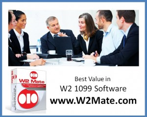 W2 Mate Best Value in W2 1099 Software