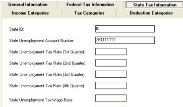 North Dakota Payroll Software-State Unemployment Tax .