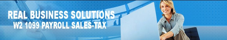 Real Business Solutions-W2 1099 Payroll Sales Tax