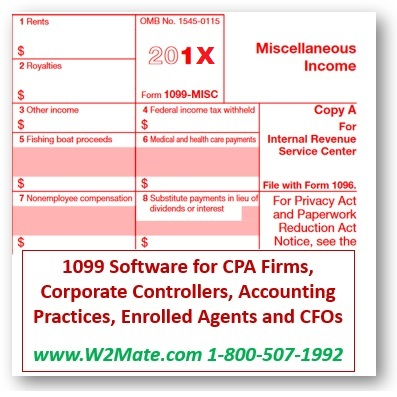 1099 software features designed for accountants