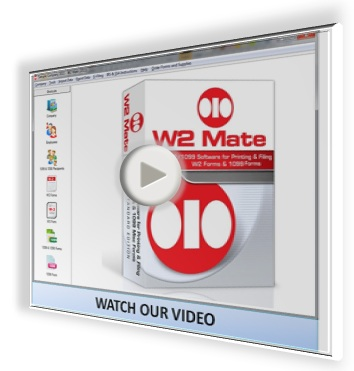 Watch W2 1099 Software Video