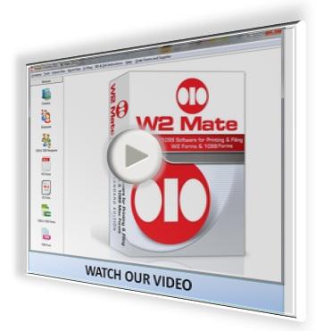 Watch W2 1099 Software Video