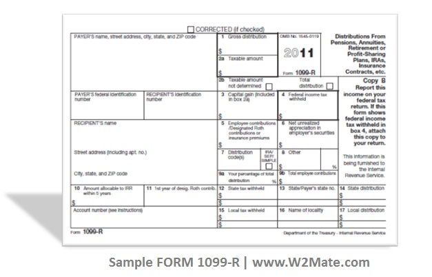 Sample-1099-R  R Form Example on html paper, us passport application, leave request, employment application,